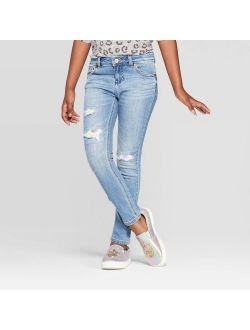 P Sequin Jeans - Cat & Jack™ Light Wash