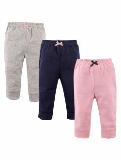 Luvabale Friends Toddler Girl Jogger Pants, 3 pack