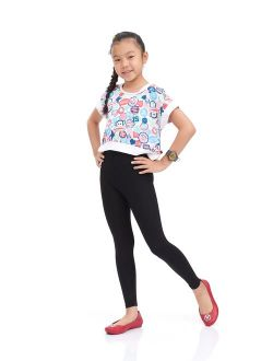Lucky 21 Nom Girls Legging Long Leg Variety of Colors Size 5-10Years