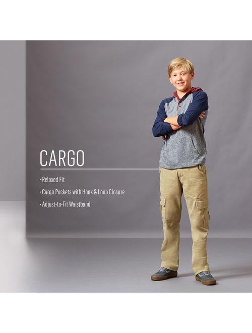 Wrangler Authentics Boys' Classic Cargo Pant
