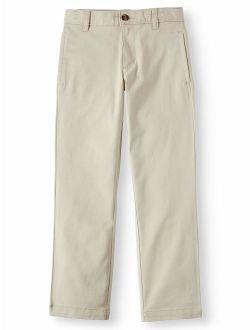 Boys 4-18 School Uniform Twill Chino Pants
