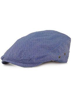 Wonderful Fashion Men's Herringbone Wool Tweed Newsboy IVY Cabbie Driving Hat