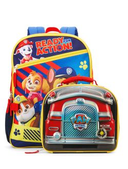 Paw Patrol Ready For Action Backpack With Lunch