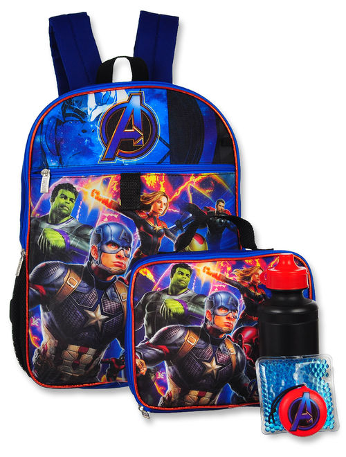Marvel Avengers 5-Piece Backpack Set