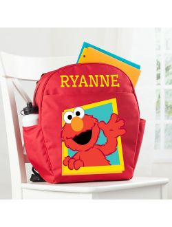 Personalized Sesame Street Red Toddler Backpack - Hello Elmo