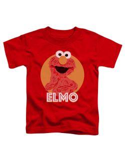 Sesame Street - Elmo Scribble - Toddler Short Sleeve Shirt - 3T