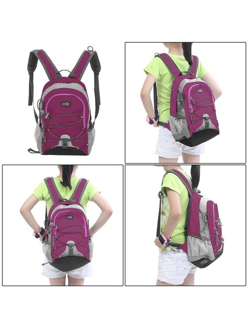 """Campingsurvivals 12"""" Waterproof Mini Backpack, 10L Waterproof Children School Bags Outdoor Traveling Hiking Running Backpack Unisex Rucksack"""