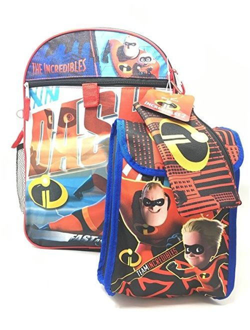Incredibles (DASH) 5-Piece Backpack Set