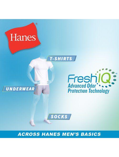 Hanes Men's ComfortBlend Ankle Socks 6-Pack