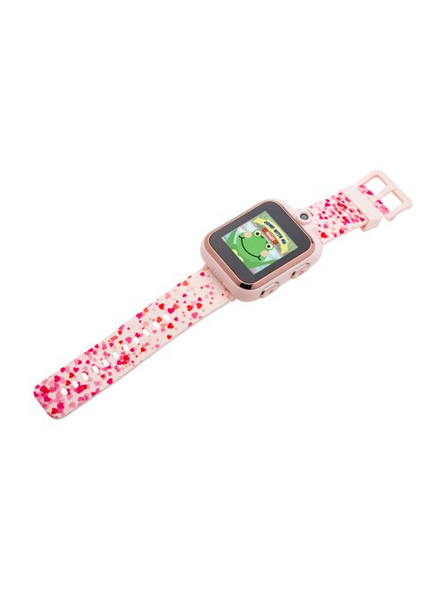 iTouch PlayZoom Kids Smartwatch For Girls - Blush Hearts