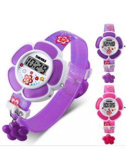 2017 New Electronic Digital Watch Sprot Silicone Kids Watch Boy Girls WristWatch