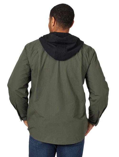Wrangler Men's Fleece Lined Shirt Jacket