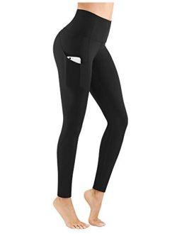 High Waist Compression Leggings And Tummy Control -through Workout Squat Proof Leggings