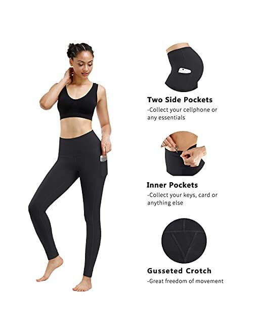 Tommy Control Workout with Pocket Running 4 Way Stretch Yoga Leggings High Waist Out Pocket Yoga Short Pants for Women