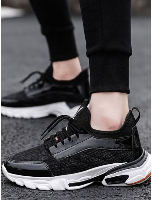 Shein Men Lace-up Front Chunky Sole Trainers