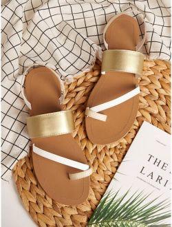 Toe Ring Flat Sliders