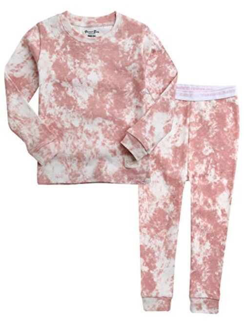 VAENAIT BABY 12M-7T Kids Unisex Boys & Girls 100% Cotton Sleepwear Pajamas 2pcs Set Prism/Cloud