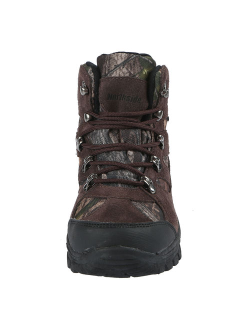 Northside Tracker Junior Waterproof 400 Gram Insulated Leather Hunting Boot Little Kid/Big Kid