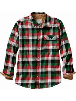 Mens Buck Camp Flannel Shirt