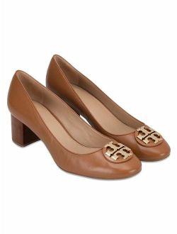 Women's Janey 85 Mm Pump Calf Leather Royal Tan