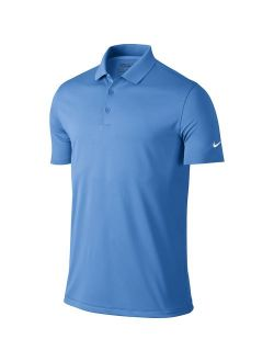 Men's Polyester Solid Short Sleeve Dry Victory Polo T-shirt