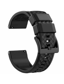 Ritche Silicone Watch Bands 18mm 19mm 20mm 21mm 22mm 23mm 24mm Quick Release Rubber Watch Bands for Men