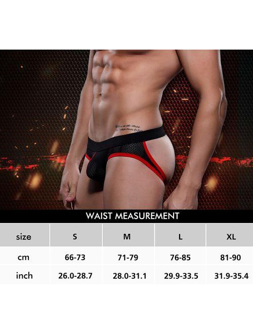 Arjen Kroos Sexy Mesh Jockstrap Underwear