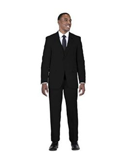 Men's Big And Tall Suny Vested Three-piece Suit