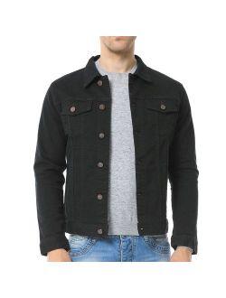 Just No Logo Men's Casual Denim Jacket