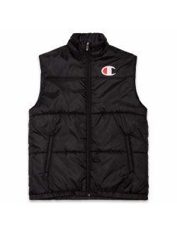Mens Puffer Vest Big And Tall Nylon Down Vest Men Puffer Jacket Vests