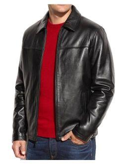 Fashion Store FS Lambskin Leather Men's Lambskin Leather Jacket