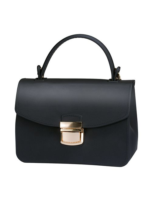 Top Handle Clutch Handbags Jelly Crossbody Bags for Women Tote Purse