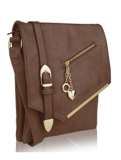 By Mia K. Jasmine Crossbody Shoulder Bag