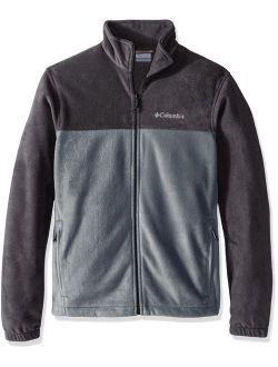Men's Steens Mountain Full Zip 2.0 Soft Fleece Jacket, Shark/grey Ash, Small