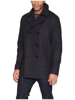 Men's Double Breasted Wool Peacoat