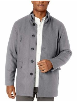 Signature Men's Wool Twill Topper With Set In Bib