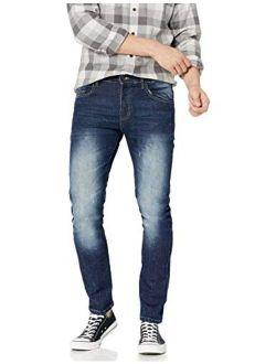Men's Flex Stretch Basic Skinny Fit Denim Pants