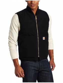 Men's Big And Tall Duck Vest Arctic Quilt Lined V01