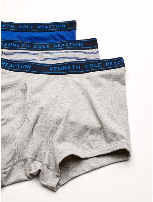 Kenneth Cole Reaction Mens Underwear Cotton Spandex Trunk Multipack