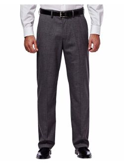 J.M. Haggar Men's Premium Performance Stretch Stria Plain Front Suit Separate Pant