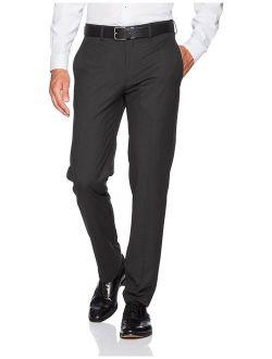 J.M. Haggar Men's Tall Size Premium Slim Fit Suit Separate Pant