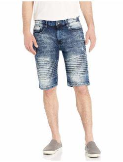 WT02 Men's Stretch Denim Shorts