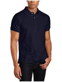 Uniforms Men's Modern Fit Short Sleeve Polo Shirt