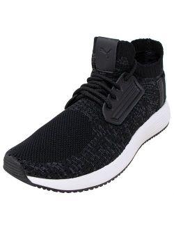 Women's Uprise Knit Black / Iron Gate White Ankle-high Sneaker - 9m