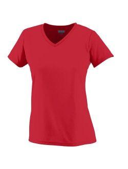 Augusta Sportswear WOMEN'S WICKING T-SHIRT 3XL Red