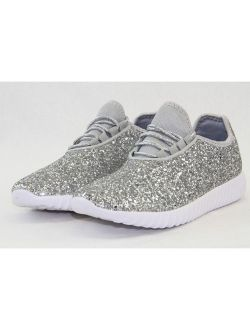 Link Remy Women Sequin Lightweight Glitter Sneakers Cross Training Shoes