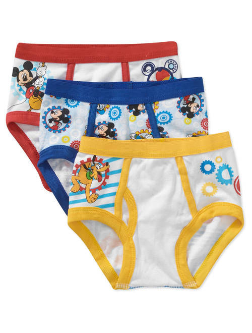 Mickey Mouse Underwear, 3-Pack (Toddler Boys)