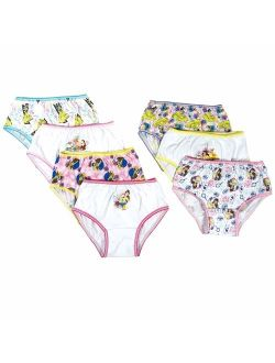 Beauty And The Beast, Girls Underwear, 7 Pack Panties (little Girls & Big Girls)