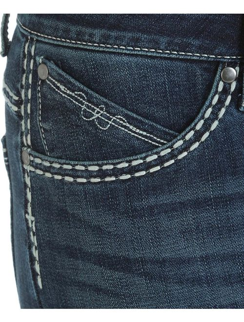wrangler women's shiloh ultimate riding jeans boot cut - wrs40ta