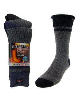 2 Pairs Arctic Extreme Thermal Socks, Warm Socks, Thick Socks, Winter Socks For Men, Women, Kids, Hiking Socks, Moisture Wicking Socks